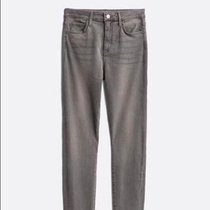 Sam Edelman Gray Skinny Jeans